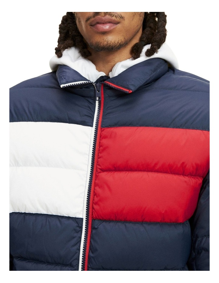 Essential Colour-Blocked Padded Jacket image 4