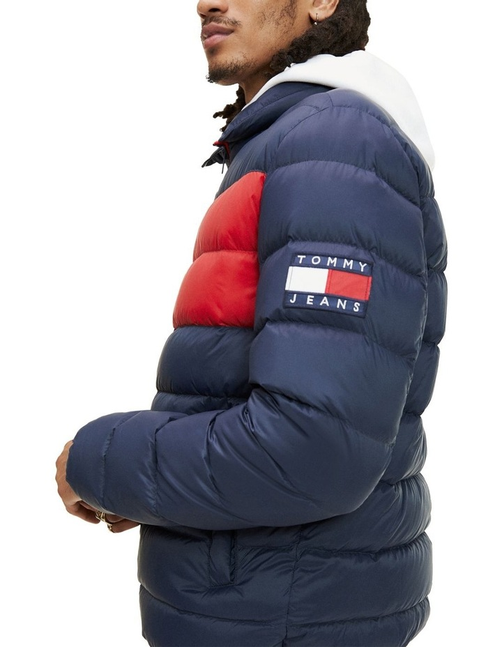 Essential Colour-Blocked Padded Jacket image 5