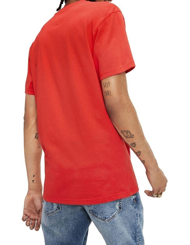 Signature Logo Applique Cotton Jersey T-Shirt image 2