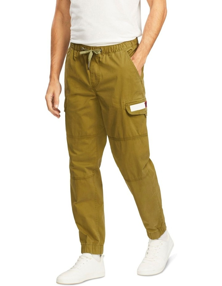 Tapered Cuffed Cargo Pant image 1