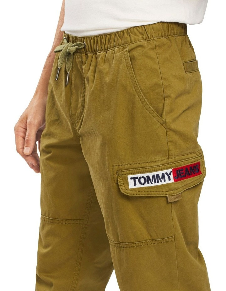 Tapered Cuffed Cargo Pant image 3