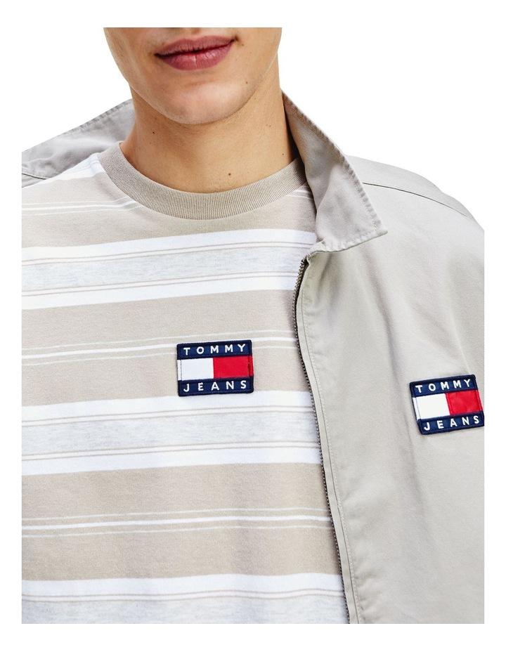 Pure Cotton Stripe Logo T-Shirt image 5