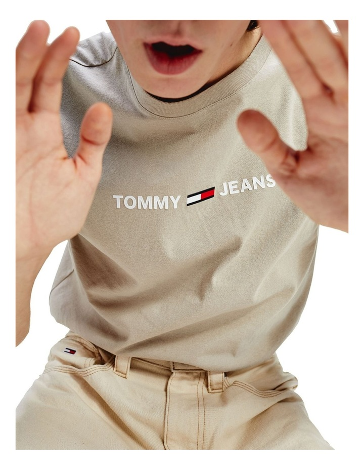 Pure Cotton Small Logo T-Shirt image 5