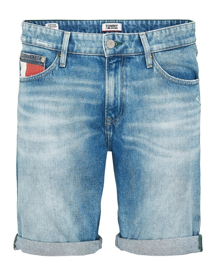 Scanton Heritage Slim Fit Denim Shorts image 4