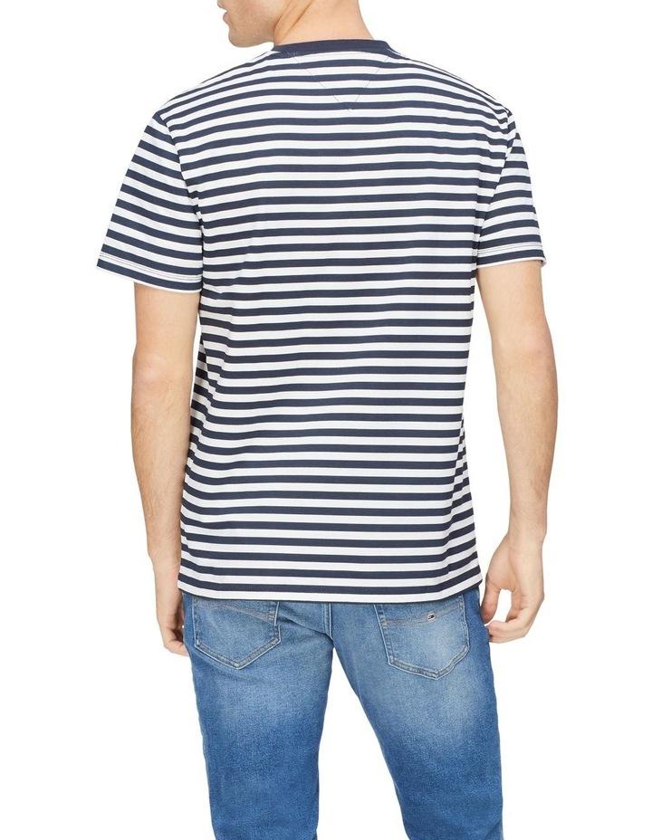 TJM Branded Stripe Tee image 2