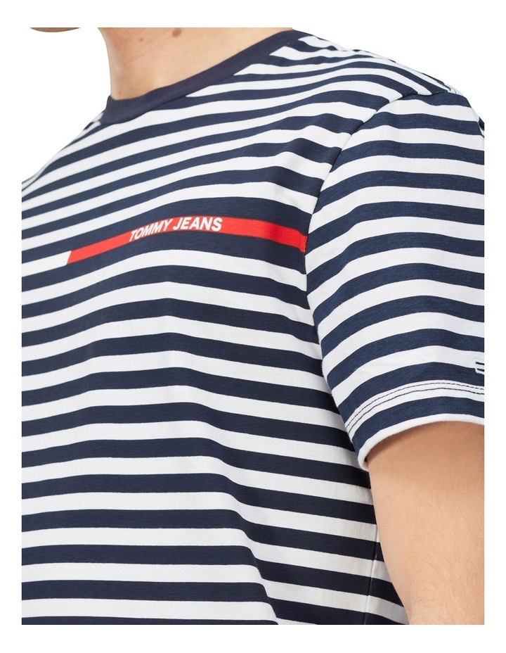 TJM Branded Stripe Tee image 3