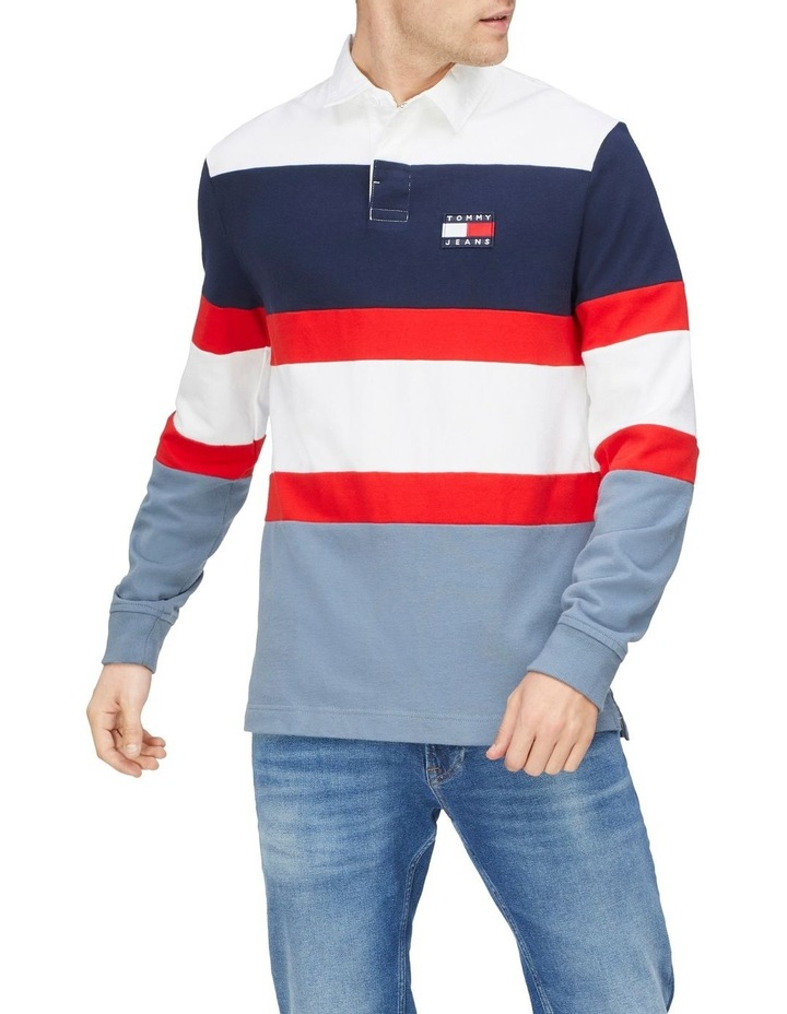 Tommy Jeans Badge Rugby Jersey image 1