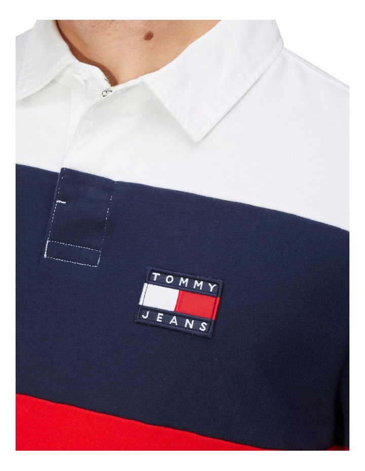 Tommy Jeans Badge Rugby Jersey image 3