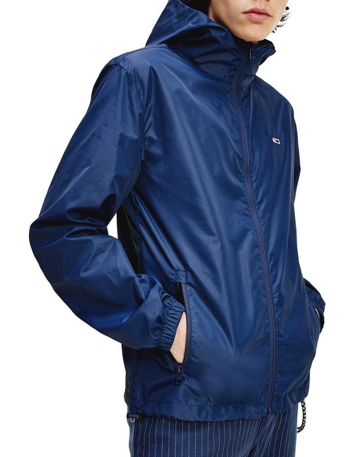 Packable Hooded Windbreaker Jacket image 1