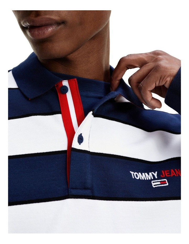 Organic Cotton Terry Long Sleeve Polo image 3