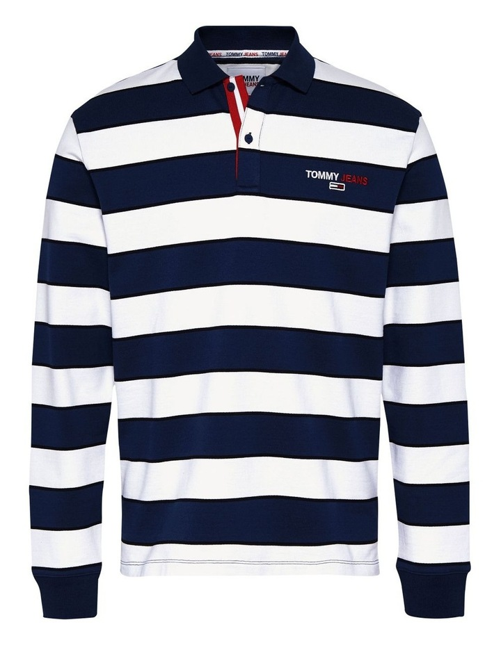 Organic Cotton Terry Long Sleeve Polo image 4