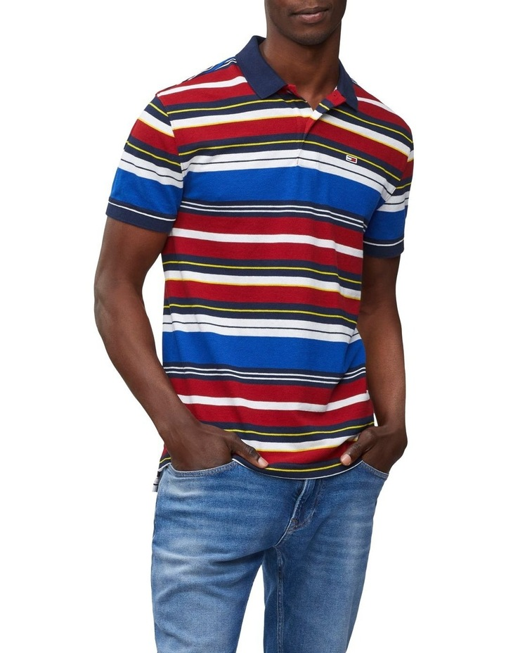 Striped Polo image 1