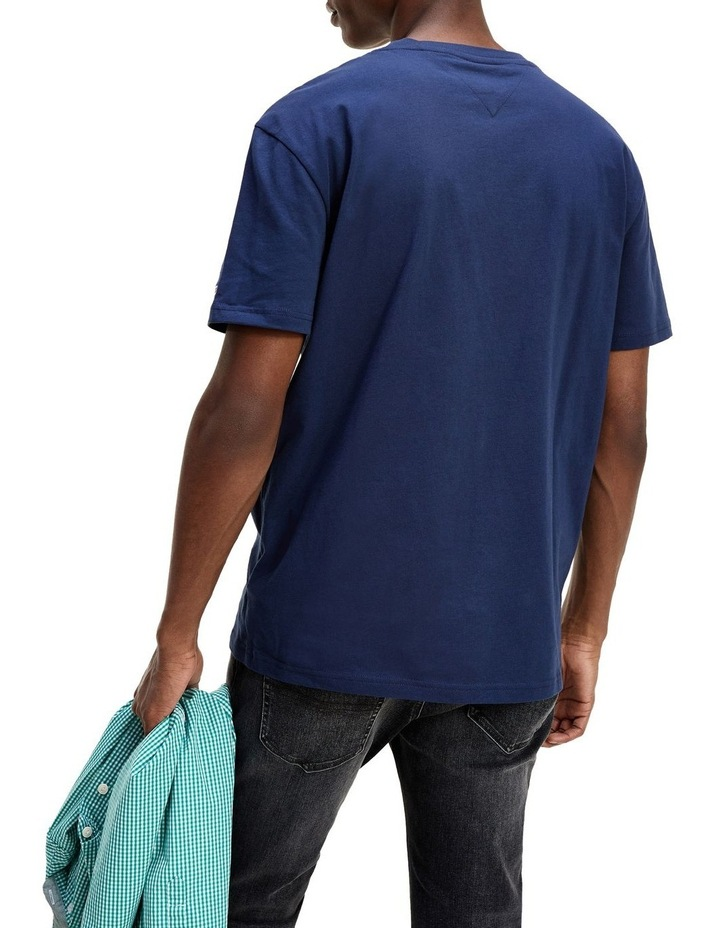 Logo Embroidery Organic Cotton T-Shirt image 2