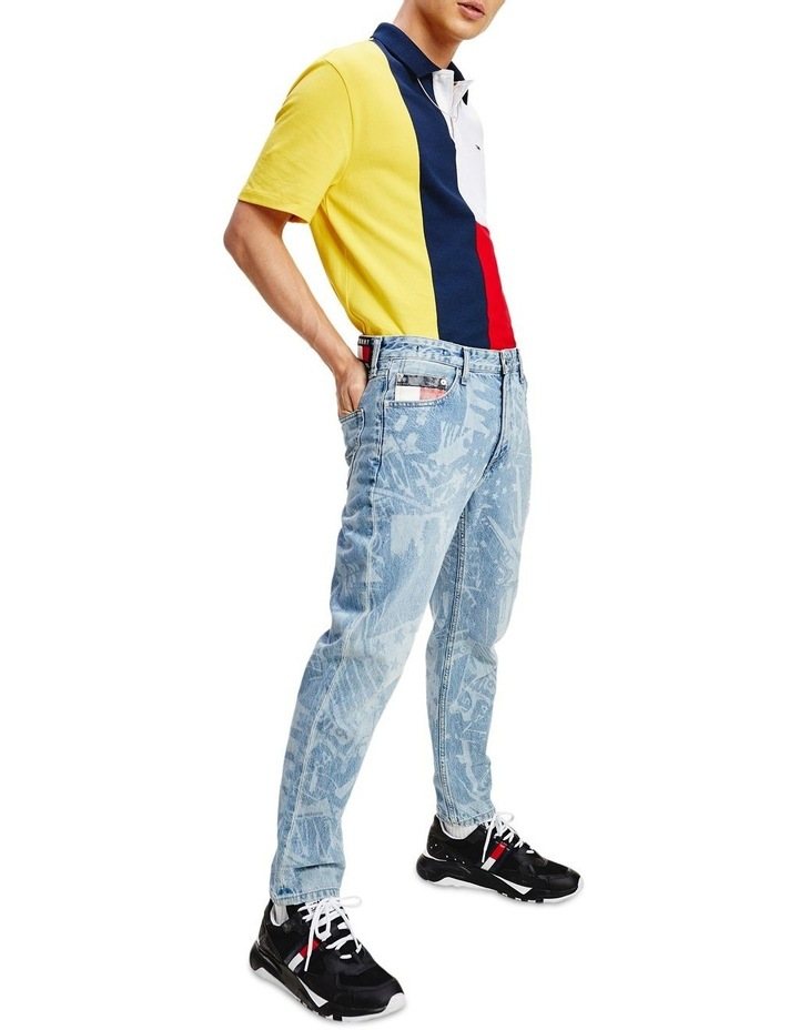 Colour-Blocked Regular Fit Polo image 3