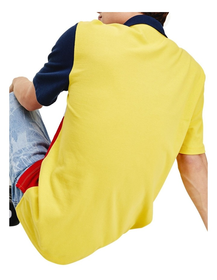 Colour-Blocked Regular Fit Polo image 4