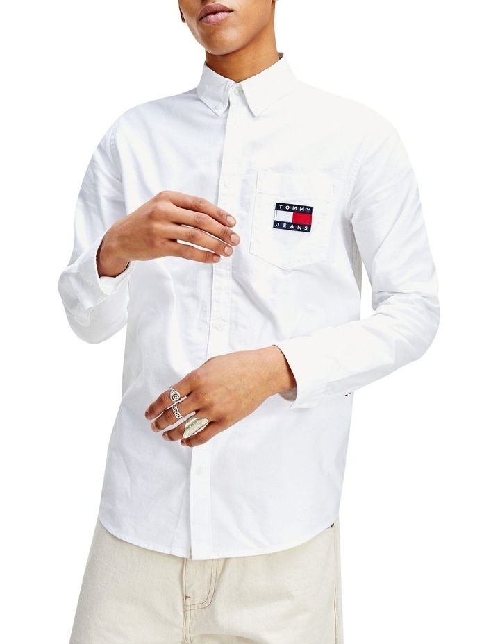 TJM Oxford Badge Shirt image 1