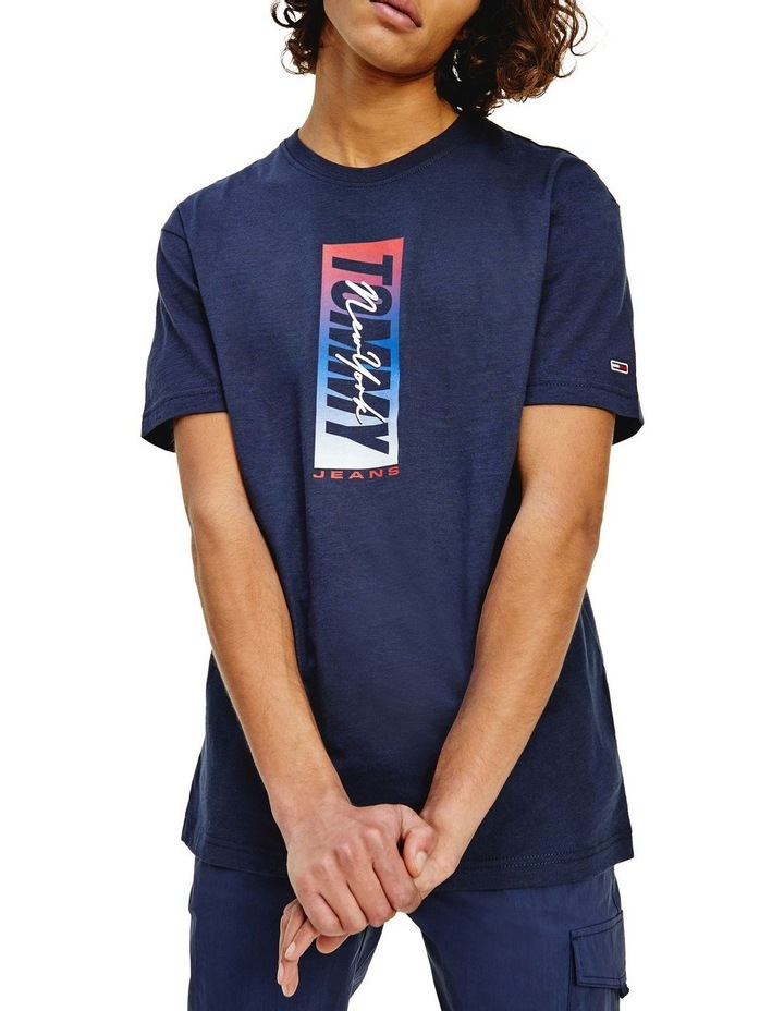 Vertical Front Logo Box Tee image 1