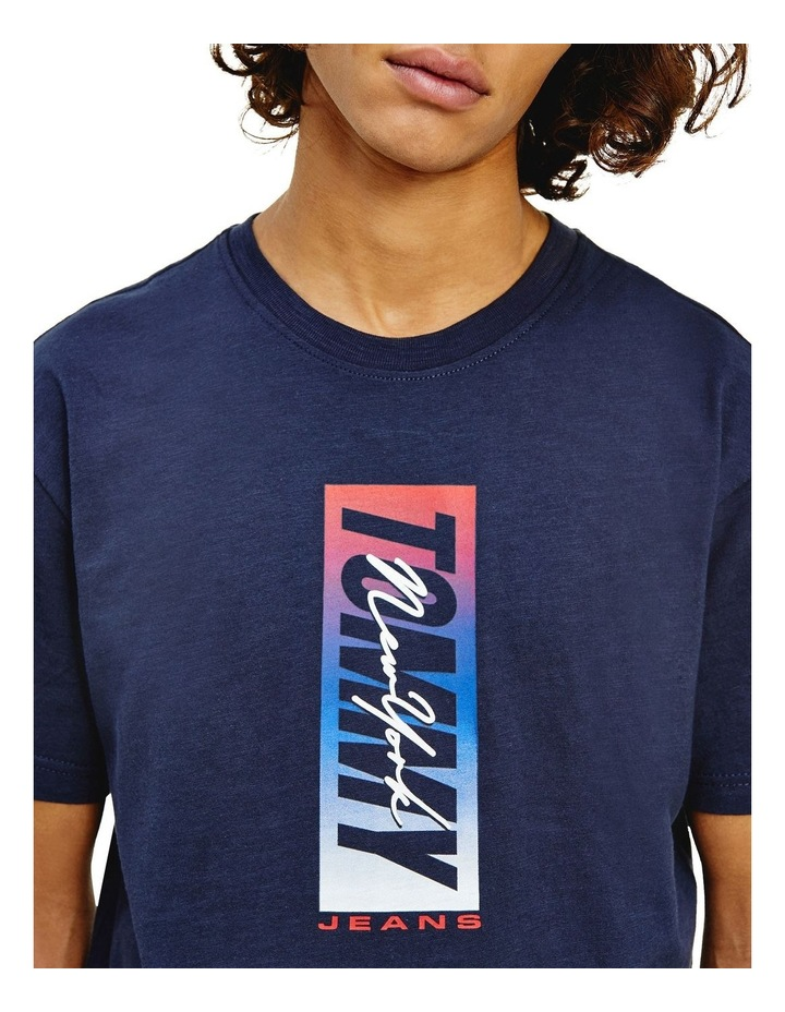 Vertical Front Logo Box Tee image 4