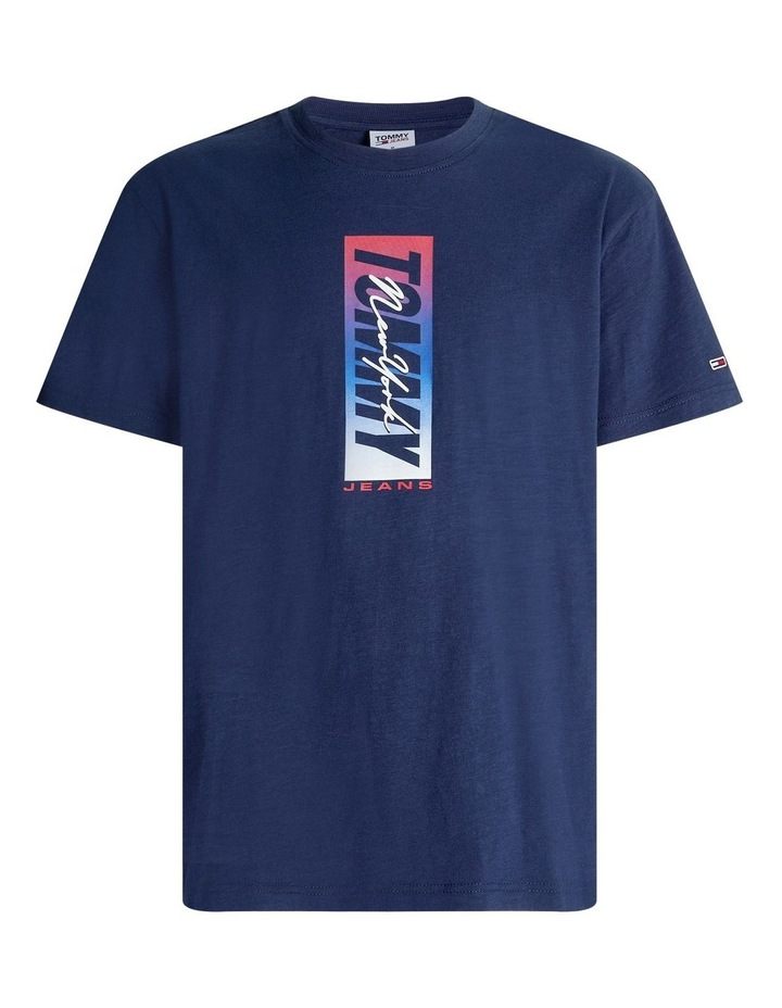 Vertical Front Logo Box Tee image 5