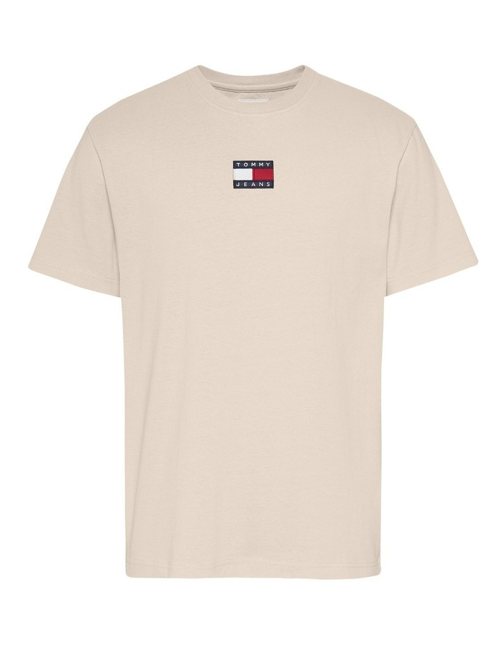 Tommy Badge Tee Smooth Stone image 1