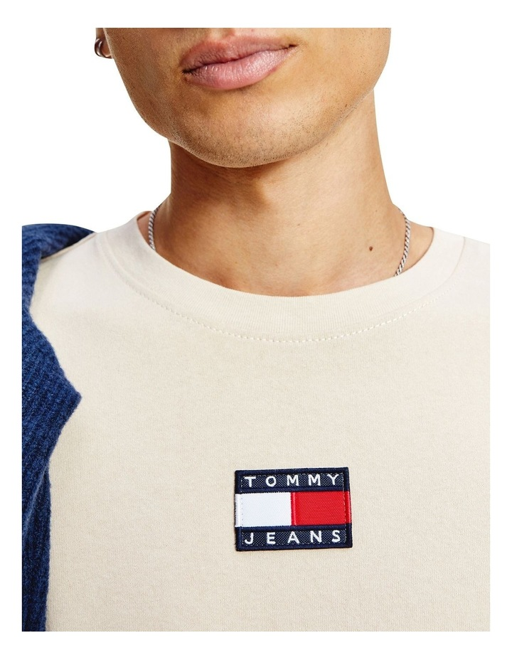 Tommy Badge Tee Smooth Stone image 3