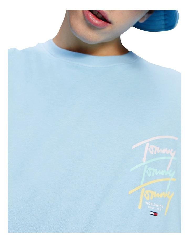 Pastel Signature Logo T-Shirt image 4