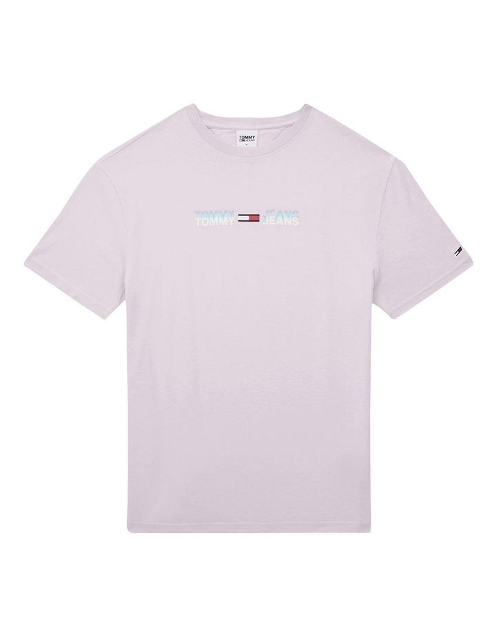 Pastel Linear Logo T-Shirt Pink image 2