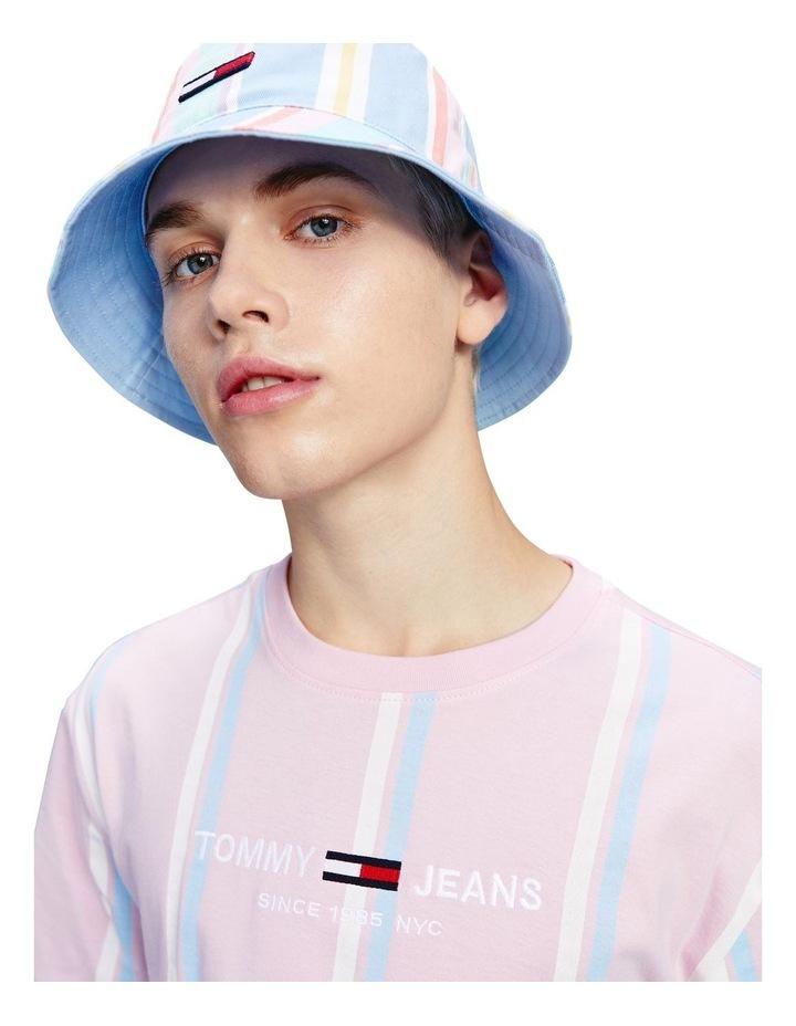 Pastel Wide Vertical Stripe T-Shirt image 4