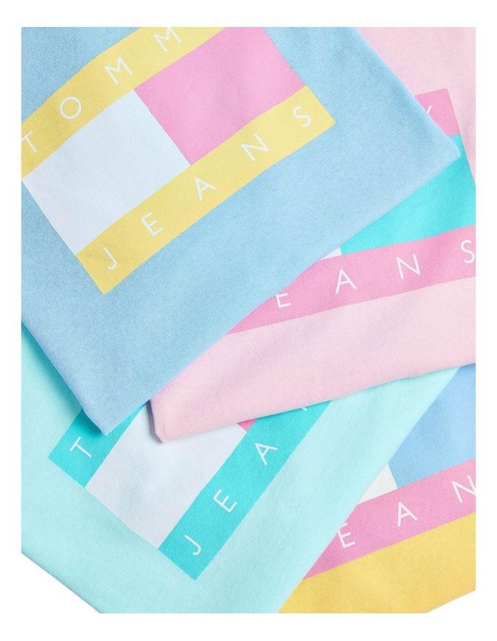 Pastel Vertical Stripe Short Sleeve Shirt image 3