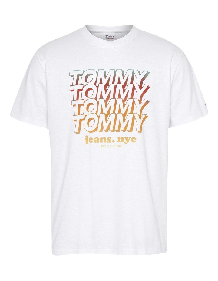Repeat Tommy Tee White image 4