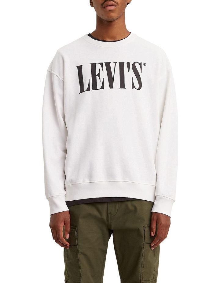 Oversized Graphic Crewneck Sweatshirt image 1