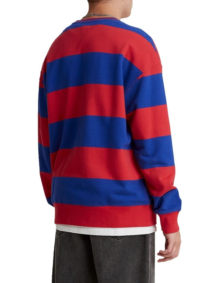 Levis® x Peanuts® Striped Relaxed Crewneck Sweatshirt image 2
