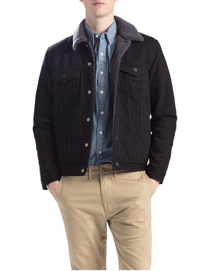 Sherpa Trucker Jacket image 1
