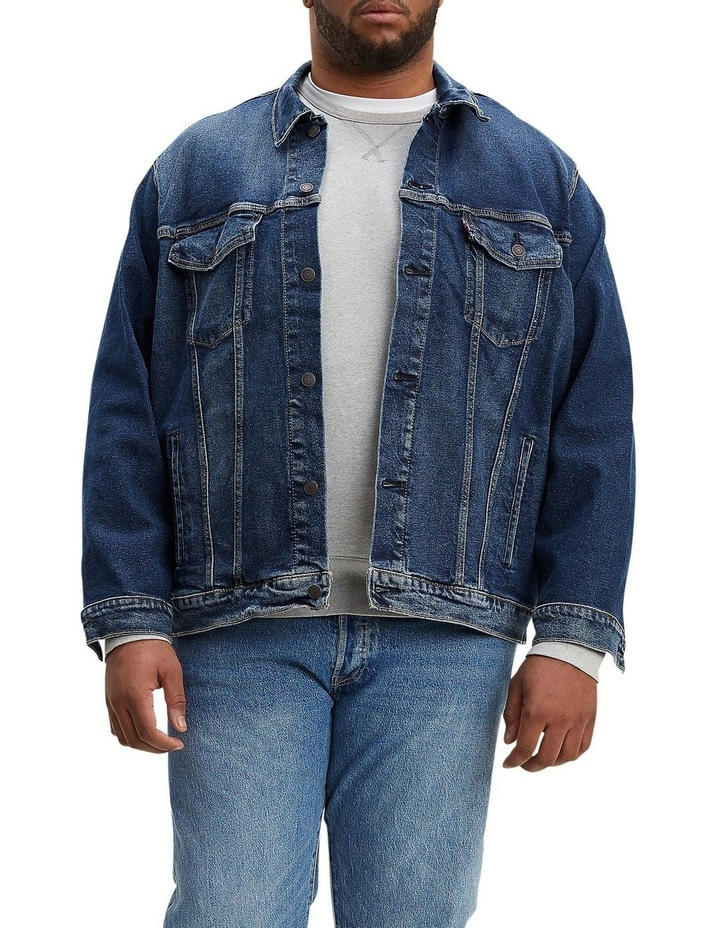 Big & Tall Trucker Jacket image 1