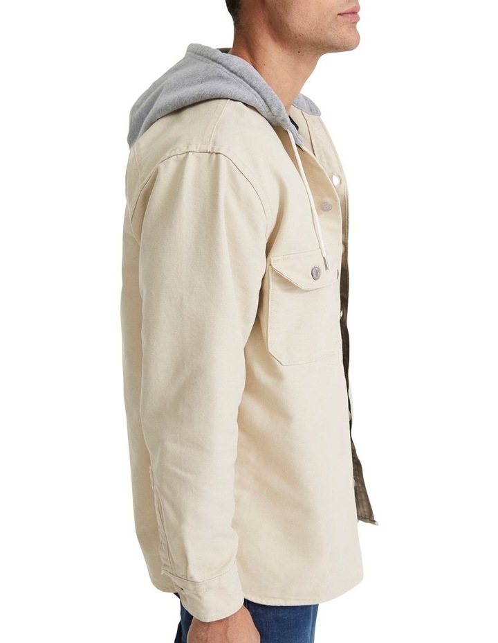 Hooded Jackson Overshirt image 3