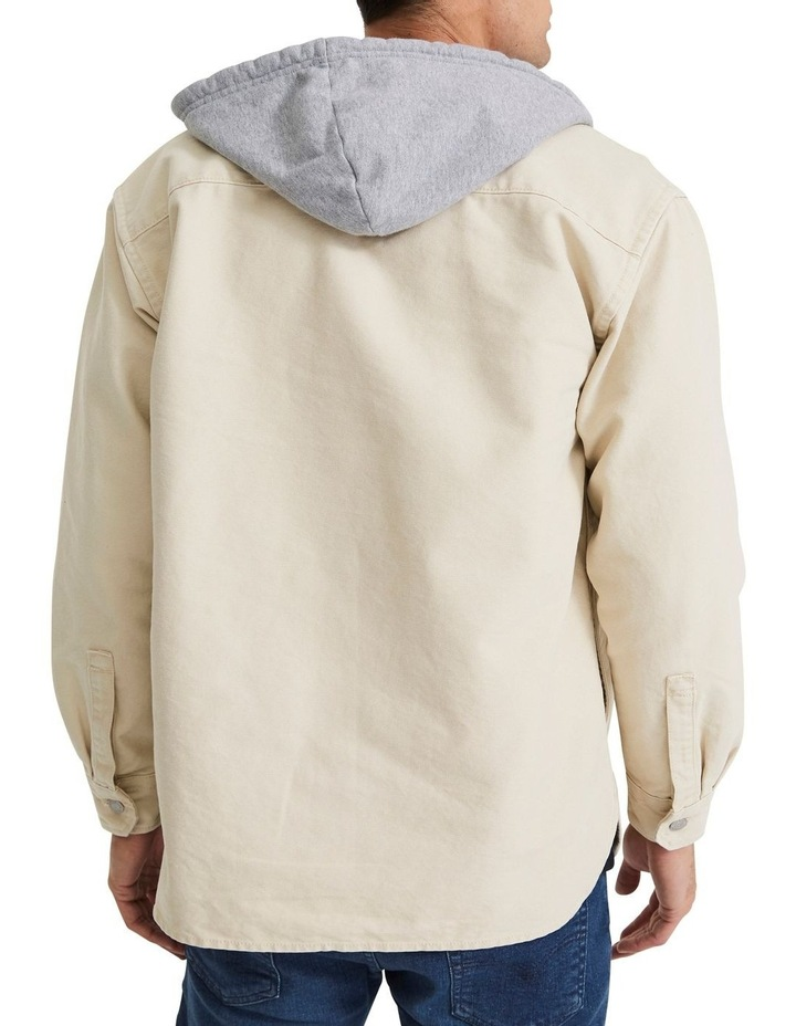 Hooded Jackson Overshirt image 4