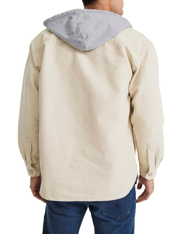 Hooded Jackson Overshirt image 5