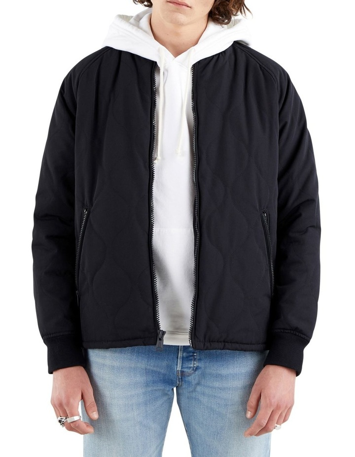 Hyde Quilted Bomber Jacket image 1