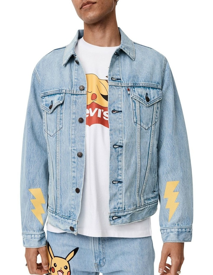 Levi's®  x Pokemon Vintage Fit Trucker Jacket image 2