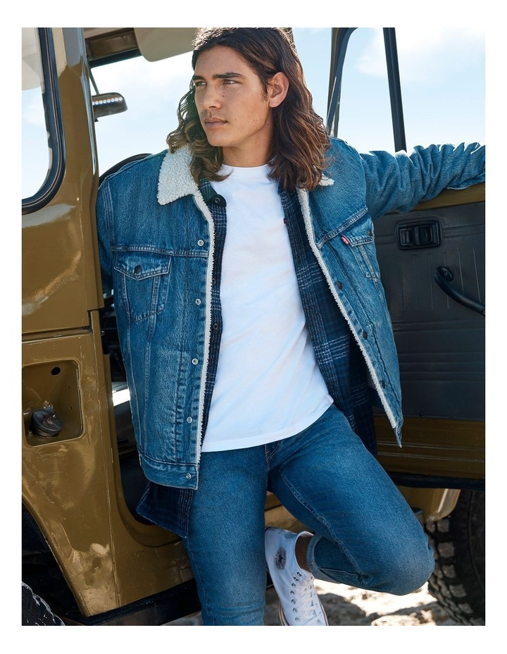 Sherpa Trucker Jacket image 2