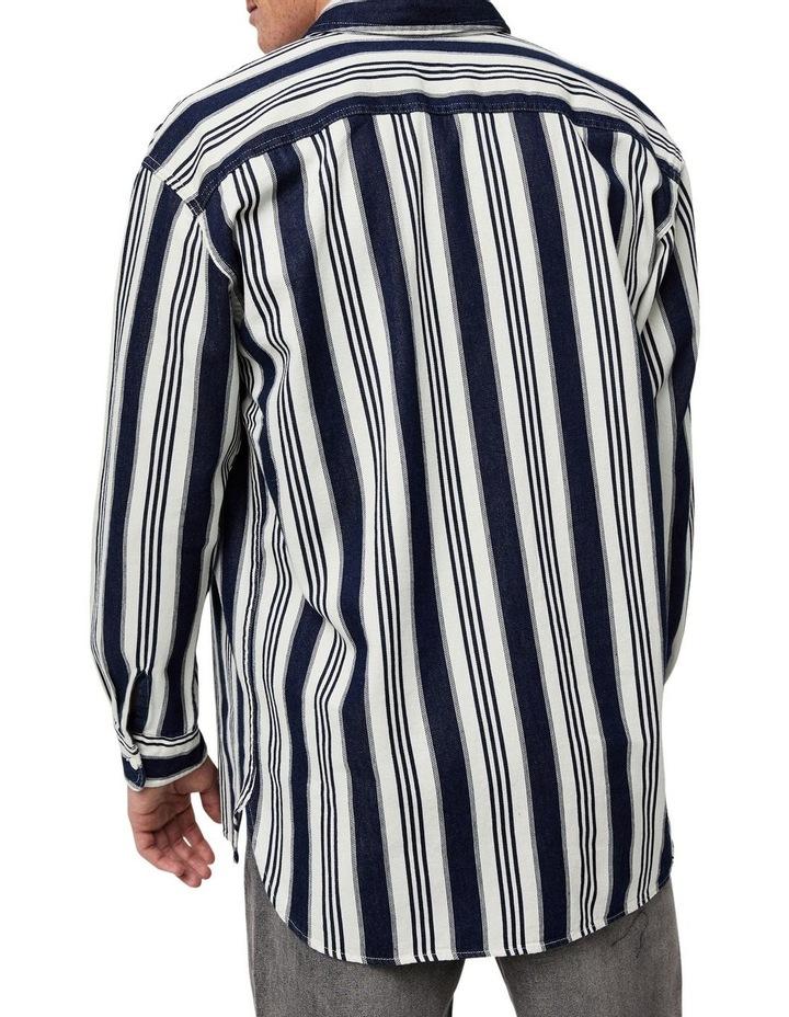 Oversized Classic Worker Overshirt image 3