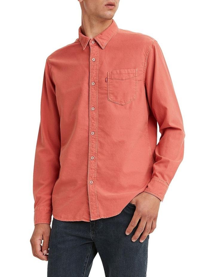 Sunset 1 Pocket Shirt Marsala image 1