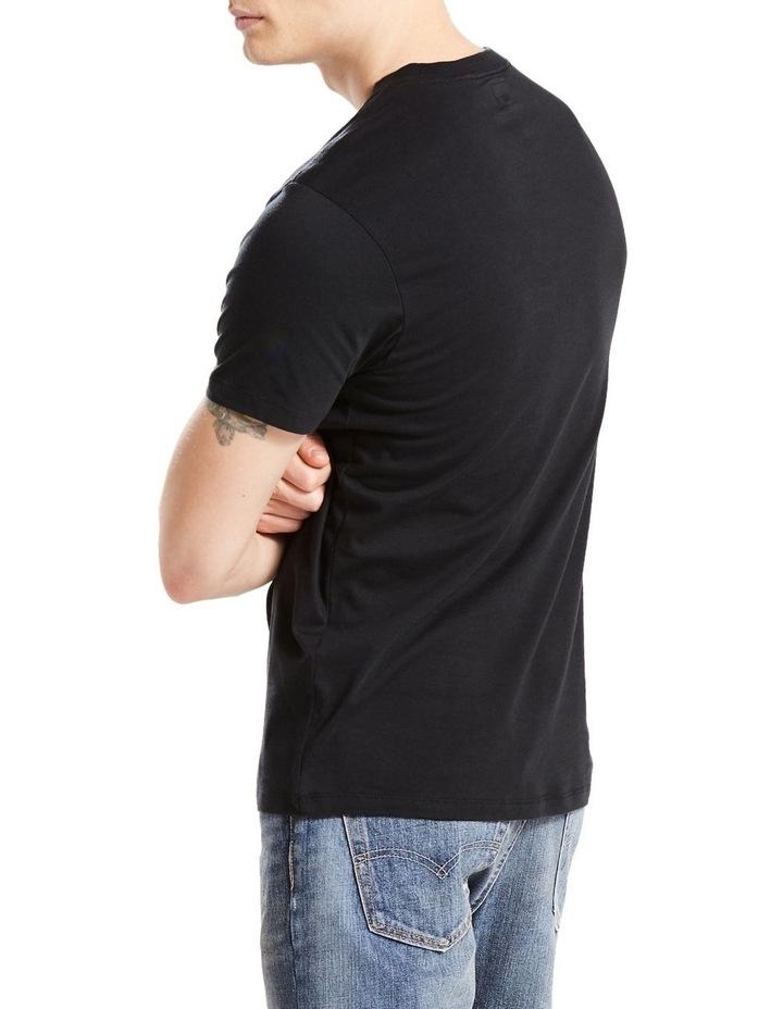 Short Sleeve Set-In Sunset Pocket Black : Black : M image 2