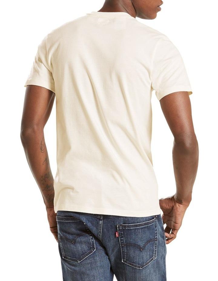 Short Sleeve Set-In Sunset Pocket Whites Moke: White: M image 2