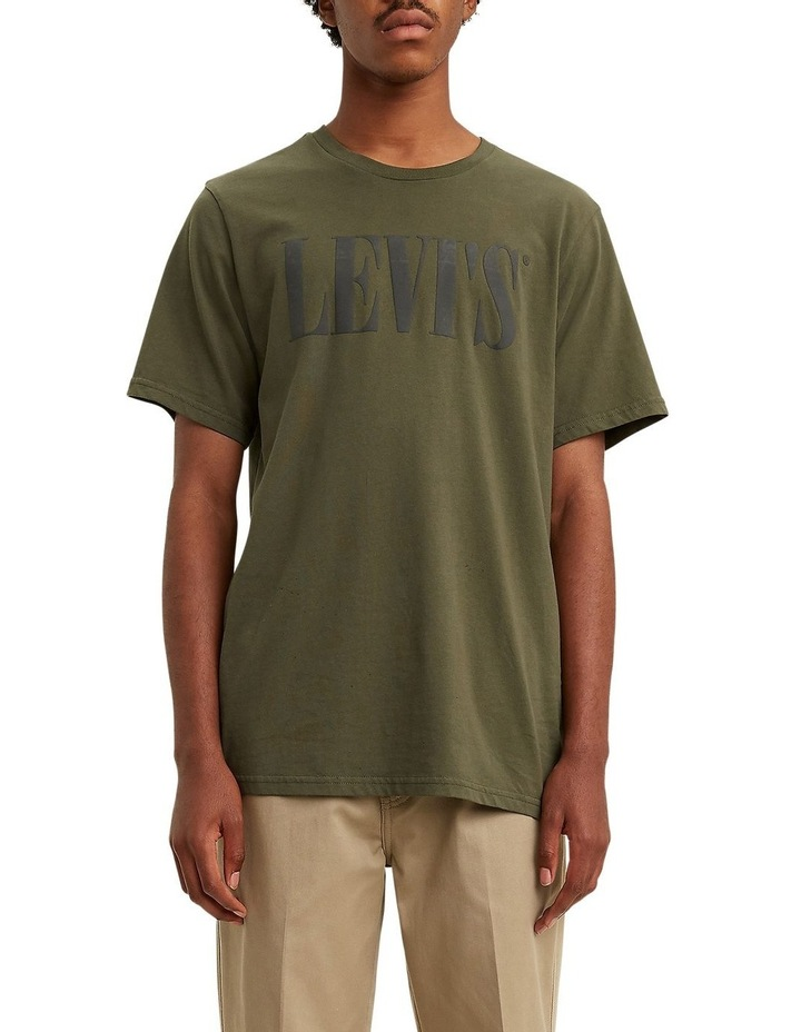 Levi's®  Serif Logo Relaxed Graphic Tee image 1