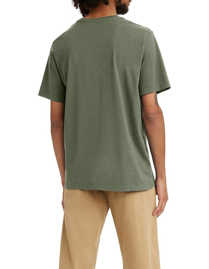 Relaxed Fit Short Sleeve T-Shirt Green image 2