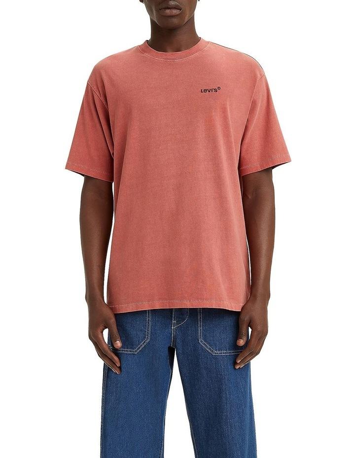 Red Tab Vintage T-Shirt Marsala image 1