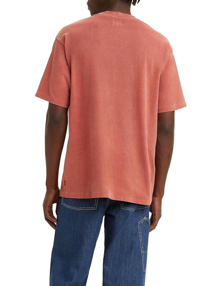 Red Tab Vintage T-Shirt Marsala image 2