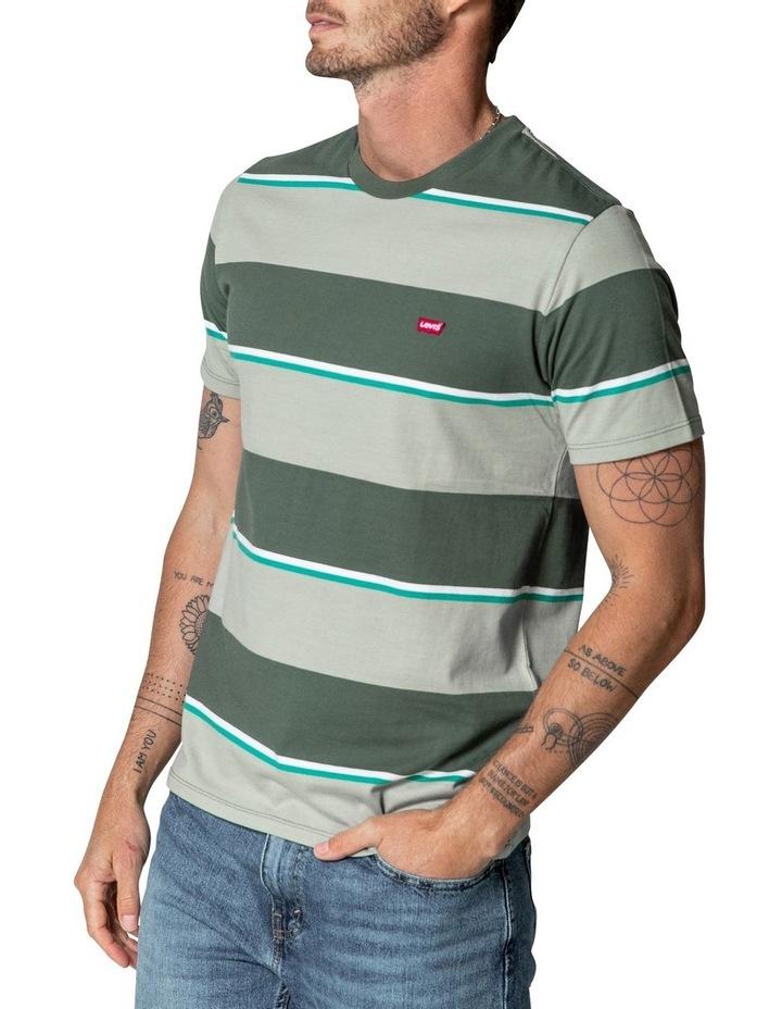 Original Housemark T-Shirt in Tea Stripes image 1