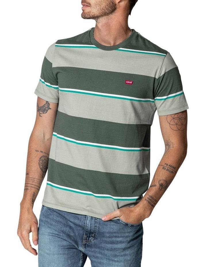 Original Housemark T-Shirt in Tea Stripes image 2
